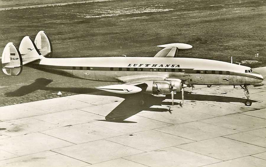 LUFTHANSA  SUPER CONSTELLATION  L-1049G   D-ALAP